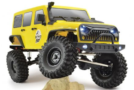 FTX FTX5579 OUTBACK FURY 4X4 RTR 1:10 TRAIL CRAWLER